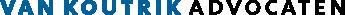 Van Koutrik Advocaten Logo